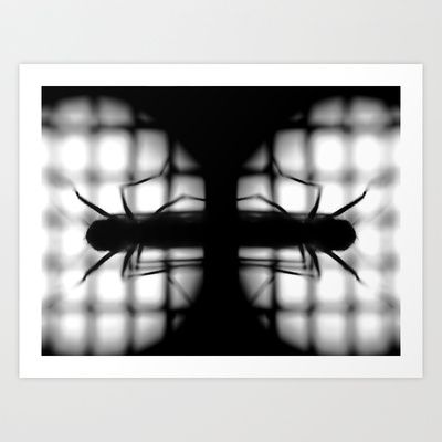 an insect in eye Art Print by Nazar Vasko - $17.68
