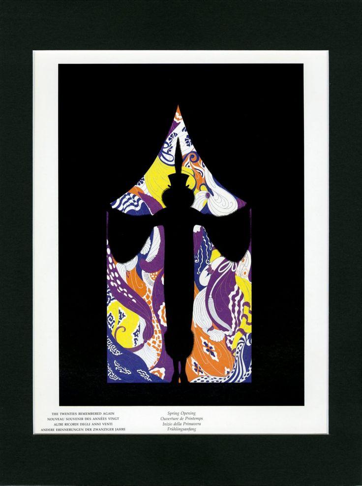 93 Best Matted Erte Prints Images On Pinterest Art Deco