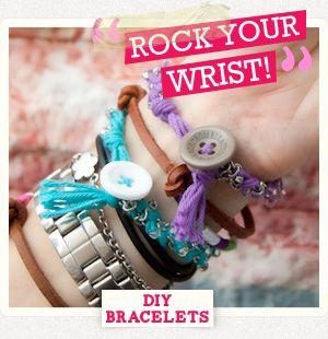 DIY Leather Friendship Bracelets : DIY Fashion by Trinkets in Bloom