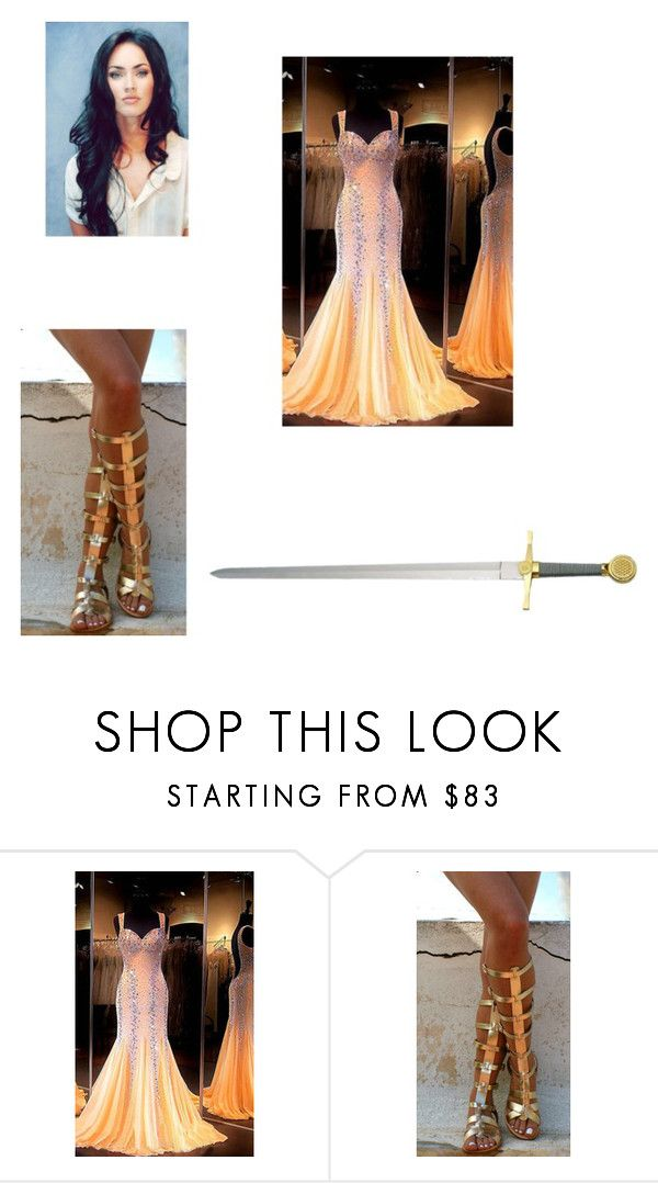 """""""Calliope"""" by korrinia ❤ liked on Polyvore featuring beauty, Ancient Greek Sandals and Whetstone Cutlery"""
