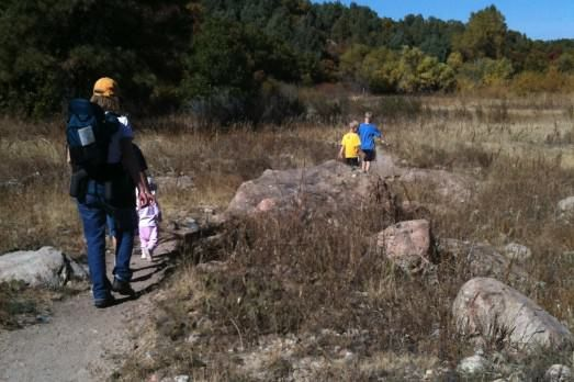 Cherry Creek Trail and Creek Bottom Trail at Castlewood Canyon