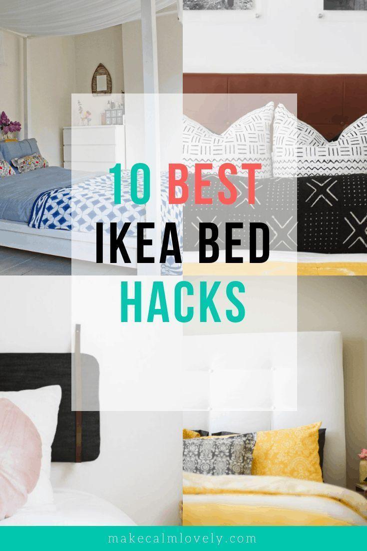 The 10 Best Ikea Bed Frame Hacks In 2020 Ikea Bed Ikea Bed Hack