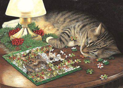 Piece-ful Slumber (500 Piece Puzzle by SunsOut)