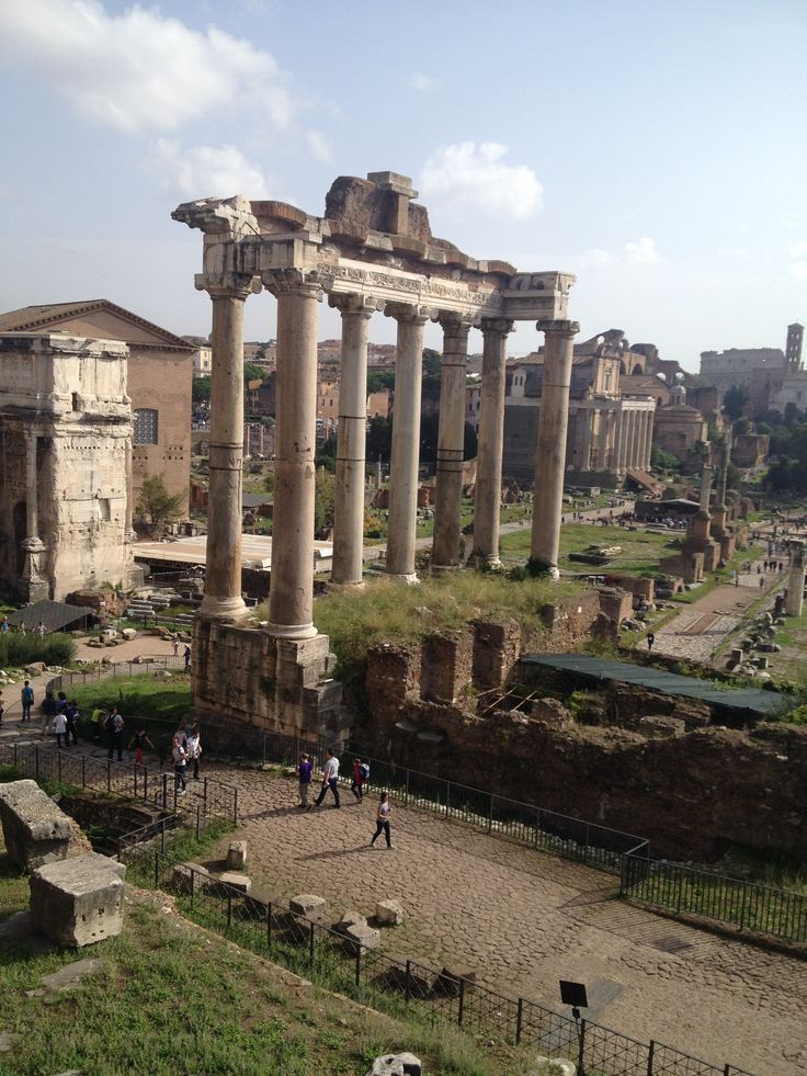 The Foro Romano was for centuries the centre of Roman public life: the venue for public speeches. Many of the oldest and important structures of ancient city were located on or near the Forum.