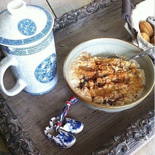 De smaak van grootmoeders appeltaart - Oatmeal