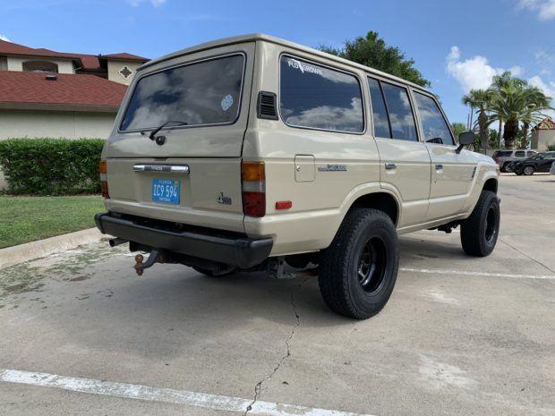 1987 Toyota Land Cruiser Fj60 Toyota Land Cruiser Land Cruiser Cruisers