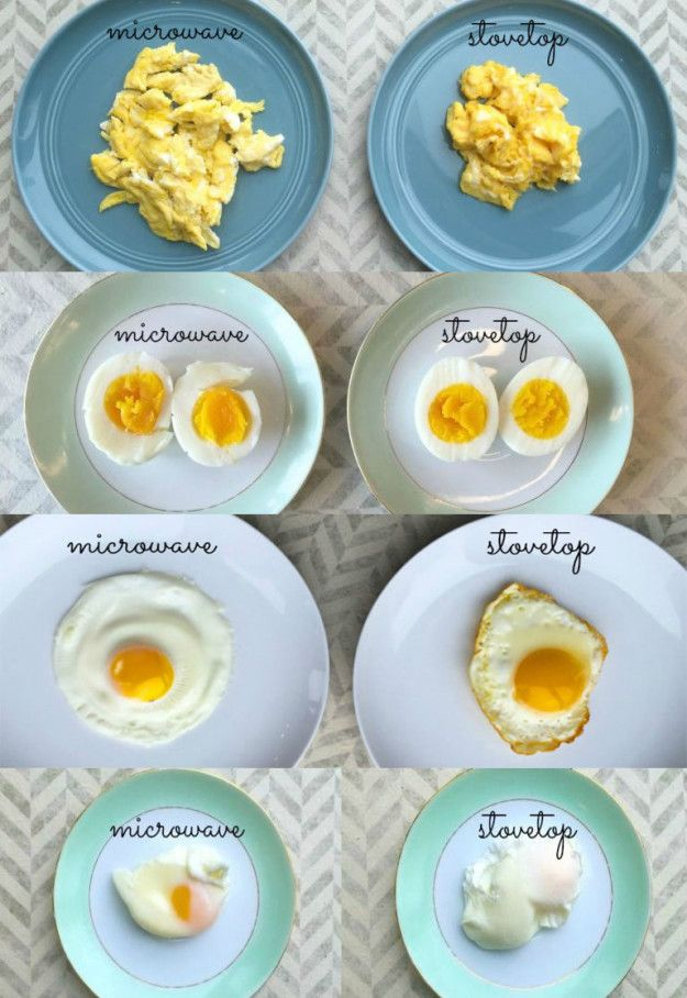 Make your eggs scrambled, poached, hard-boiled, and even fried.