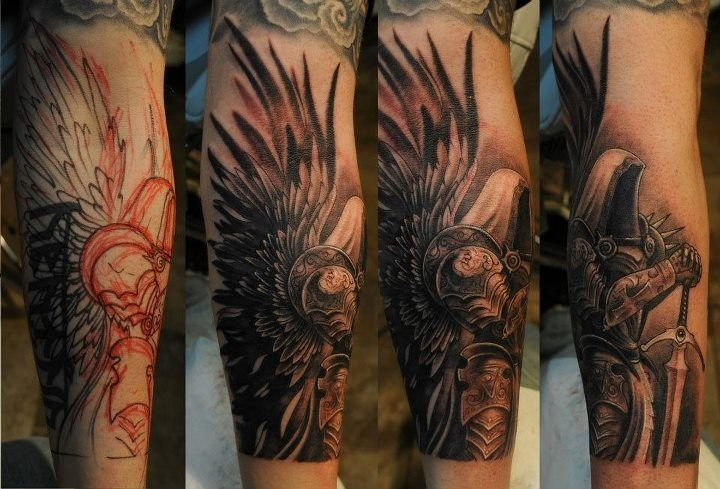Tyrael Tattoo by KdX7.deviantart.com on @DeviantArt