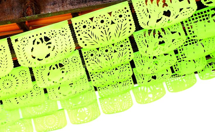 Fiesta wedding decor, 5 Pack banners, 60 feet long banner, Fiesta Decorations Garland, Mexican Party Supplies, Papel picado first birthday,