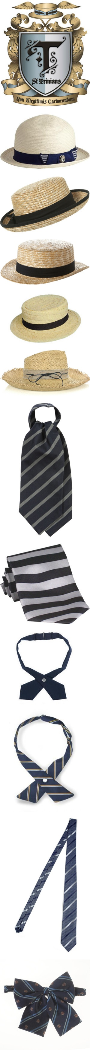 """""""ST. TRINIAN'S UNIFORM"""" by tany ❤ liked on Polyvore"""