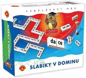 Vzdělávací hra Slabiky v dominu
