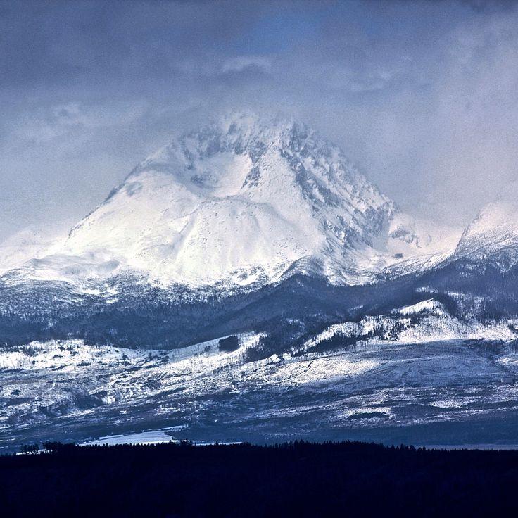 The highest peak of Slovakia - Gerlachovsky stit