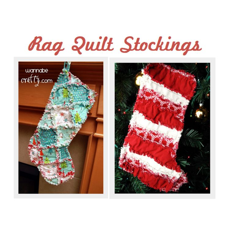 Without fail, this time of year my most popular post is for a rag quilt Christmas stocking. Sadly enough, that beautiful stocking's tutorial link is no longer operational. But I don't want to lea...