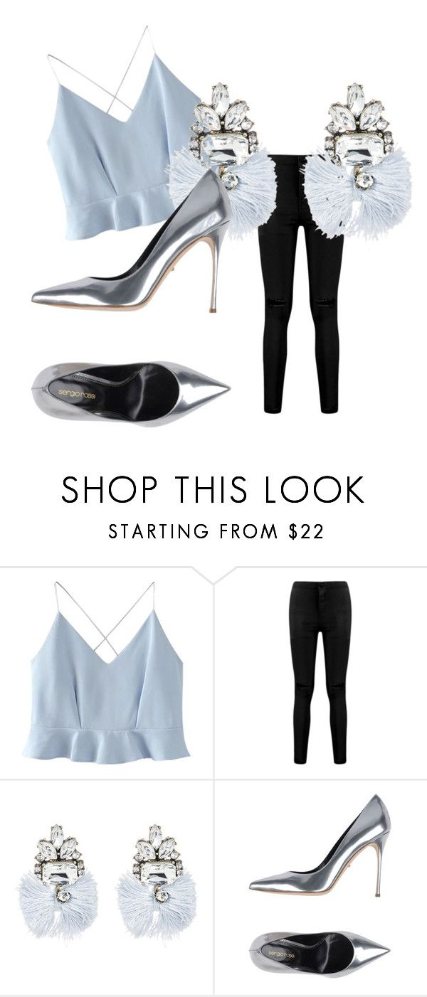 """""""still"""" by studio-al-t on Polyvore featuring WithChic, Boohoo, BaubleBar and Sergio Rossi"""