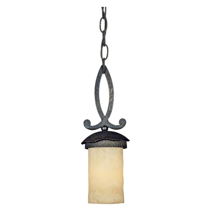 Quoizel LP1505IB La Parra Mini Pendant Light - 5W in. Imperial Bronze - LP1505IB