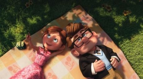 """Up--""""Pixar created a better love story in 8 minutes without words than Twilight did in 4 books."""""""