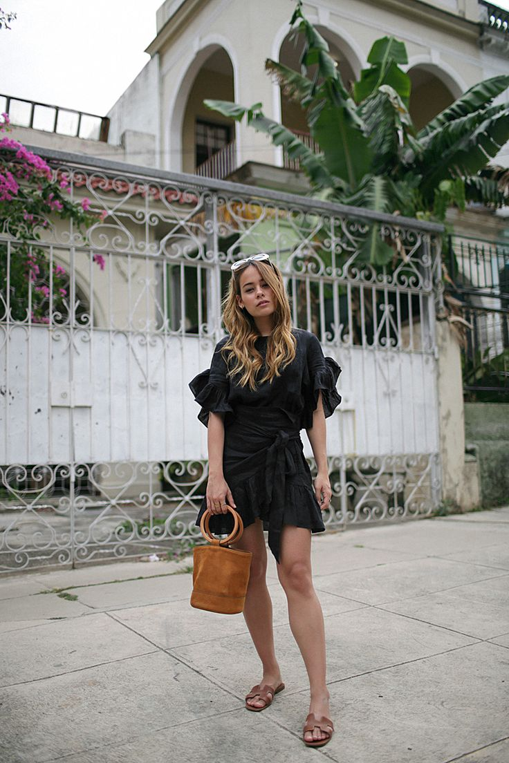 Outfit The Frilled Wrapping Dress In Havana Cuba