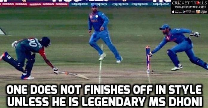#WT20 #INDvsBAN #T20WorldCup #ICCT20WC #MSDhoni #T20I Cricket Trolls  MS Dhoni​ : Best finisher for a reason  http://www.crickettrolls.com/2016/03/23/no-one-can-handle-pressure-more-better-than-ms-dhoni/
