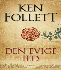 Den evige ild af Ken Follett er den tredje historiske roman i Kingsbridge-serien. Den evige ild handler om hemmelige agenter, der arbejder for dronning Elizabeth d. 1'ste, og det er en bog om magtkampe mellem kirke og stat.  Klik på forsidefotoet og læs mere om både den evige ild og om hele Kingsbridge-serien.