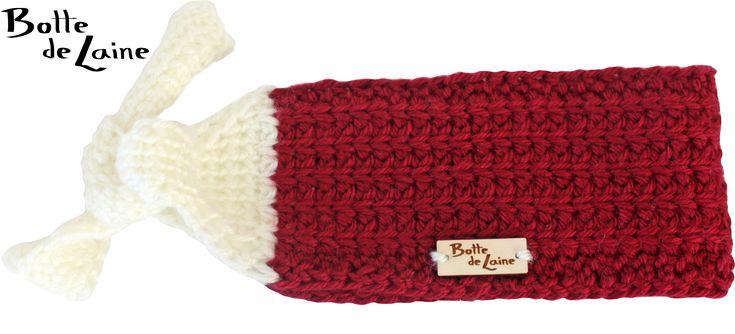 Bandeau évolutif enfant-adulte au crochet tunisien. Patron disponible pour achat. www.BottedeLaine.etsy.com