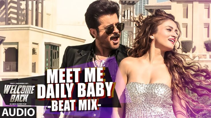 Meet Me Daily Baby (Beat Mix) Full AUDIO Song | Welcome Back | T-Series