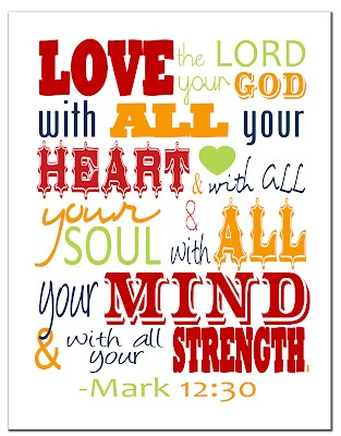 CHRISTIAN PRINTABLE WALL ART ...GREAT FOR THE HOME OR KIDS ROOM