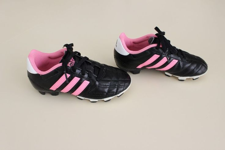 Adidas Goletto IV TRX FG J Youth Soccer Shoes Cleats G65054 Black/Pink Sz 12 K  #adidas
