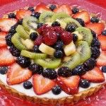 Mom'sEasy Fruit Tart Recipe From Scratch! I'm mom! lol This is my easy fruit tart recipe with filling and glaze. I use a delicious and simple shortbread crust recipe for this, which…