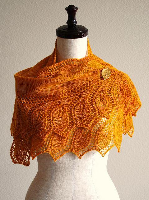Semele Shawl by Åsa Tricosa [pattern] #knitting #handmade #diy