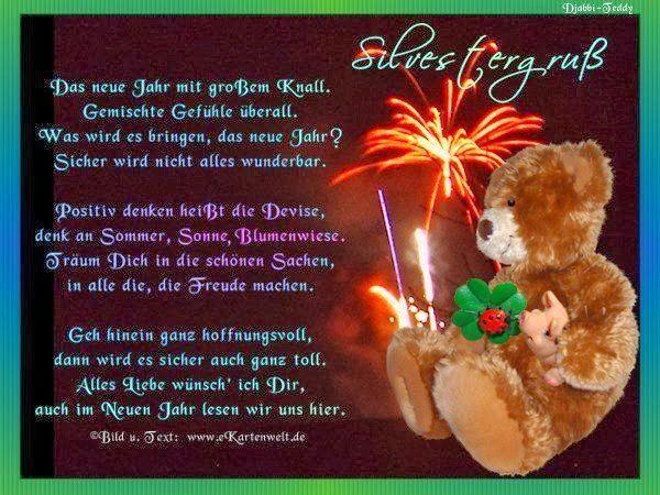 Emmq9zh6bul Von Edith · Silvester NeujahrNeujahr SprücheSprüche  WeihnachtenNeue ...