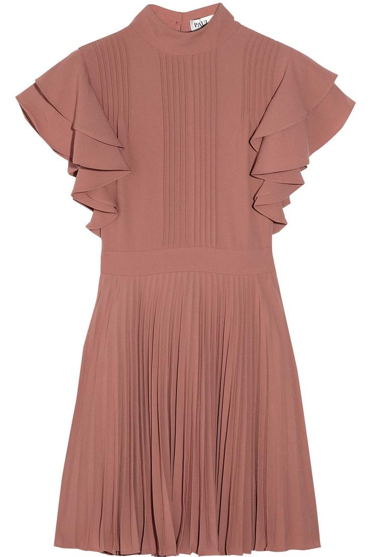 Paul & Joe | Darius pleated crepe dress | NET-A-PORTER.COM