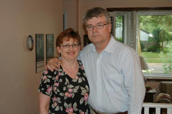 Guy & I on our 25th Anniversary