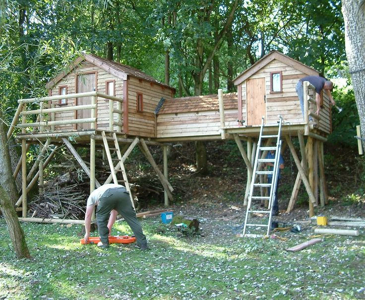 8 best images about kids tree house on pinterest kid tree houses trees and kid - Houses for families withchild ...