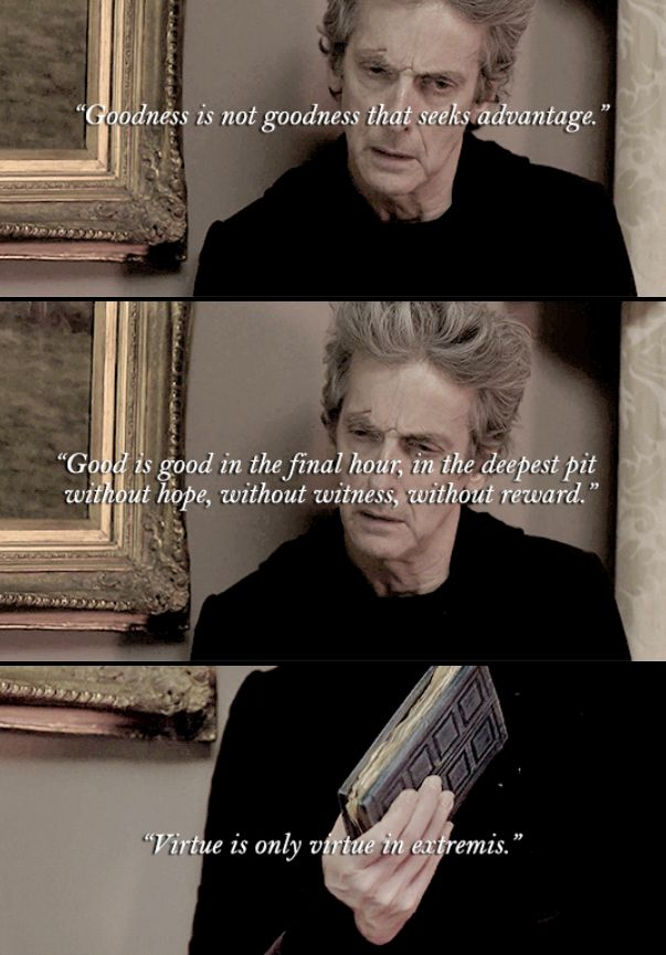 """This is what he believes, and this is the reason above all I love him, my husband, my madman in a box, my Doctor."" - River Song"