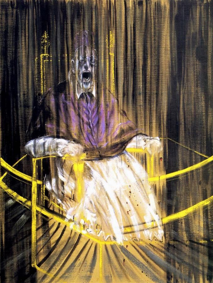 Study after Velázquez's Portrait of Pope Innocent X, 1953, Francis Bacon