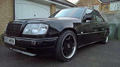 eBay: 1995 MERCEDES W124 E220 AUTO BLACK - AMG BODYKIT - LEATHER - MOT #classiccars #cars