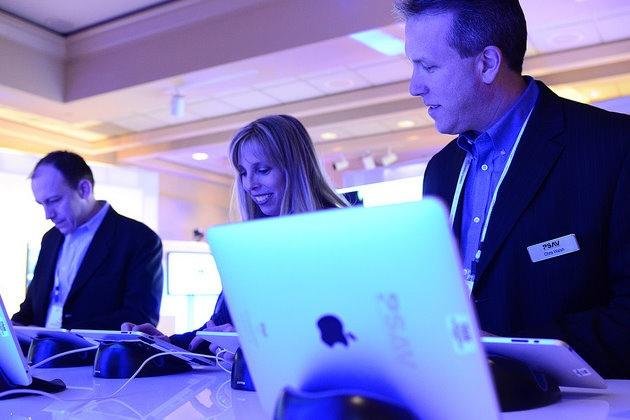 #PSAV iPad Meeting setup at PCMA 2011 in Las Vegas
