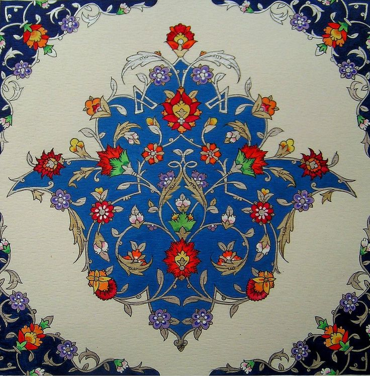 Persian Illuminations (Tazhib) artwork by Mojgan Lisar: Toranj