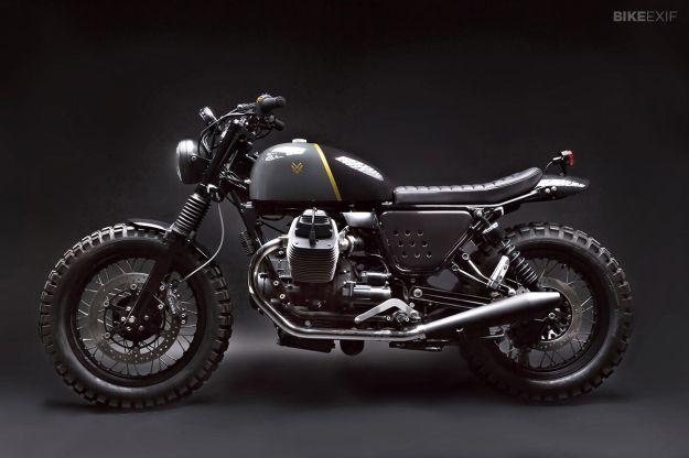 Moto Guzzi V7 Stone by Venier Customs   Bike EXIF