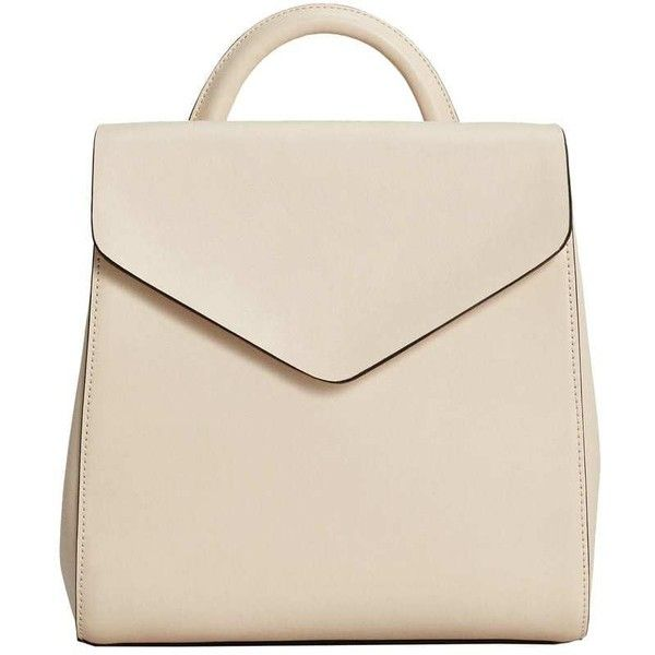 Front Lapel Backpack (86 PEN) ❤ liked on Polyvore featuring bags, backpacks, knapsack bag, magnetic bag, rucksack bags, backpack bags and buckle backpacks