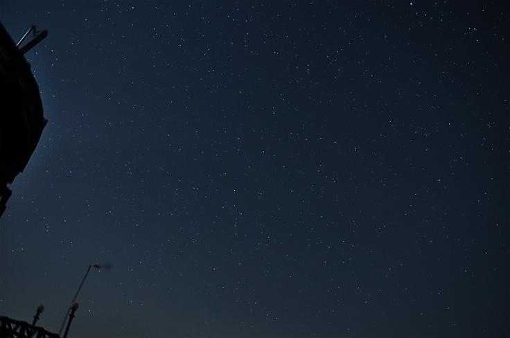 문경 활공장에서 북쪽 하늘