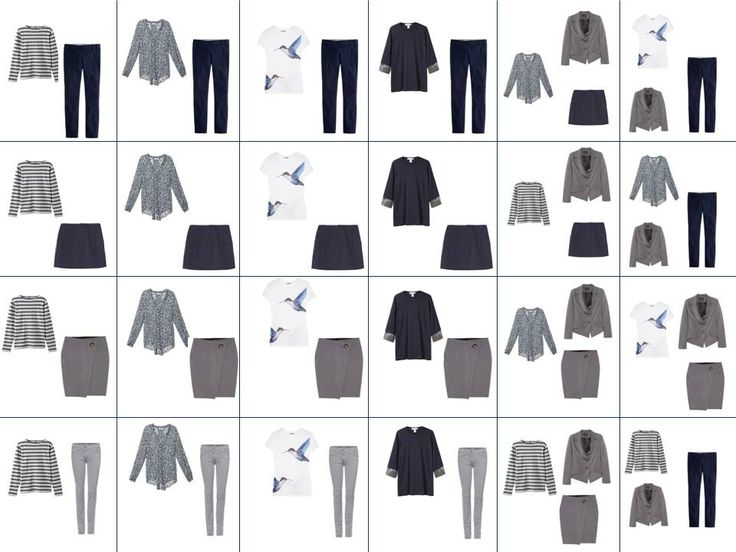 Building a wardrobe by fours. I just spent over an hour on this blog looking at all her outfit combinations with just about 30 basic clothing items. Inspiring!