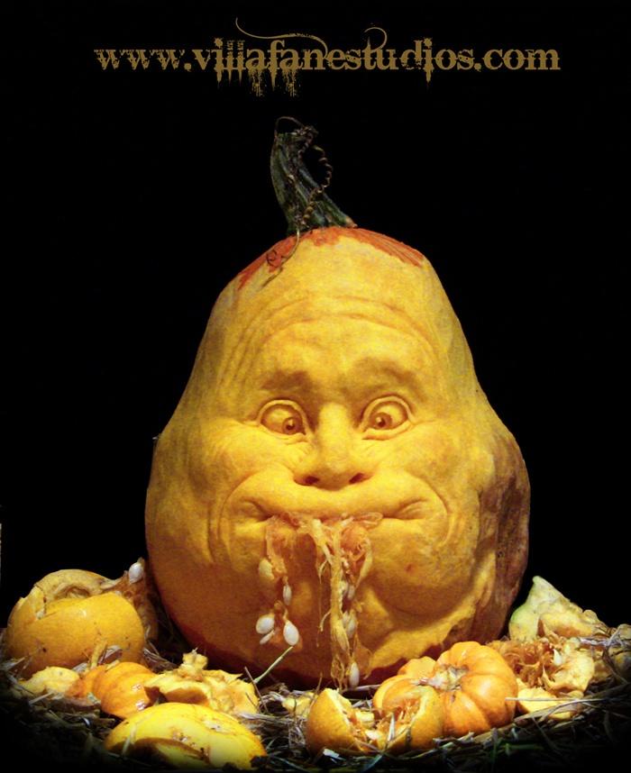 Best Pumpkin Carving Images On Pinterest Amazing Pumpkin - Mind blowing pumpkin carvings by ray villafane 2