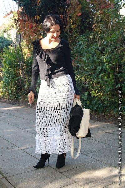 Kостюм: вязаная юбка и кофточка. Обсуждение на LiveInternet - Российский Сервис Онлайн-Дневников