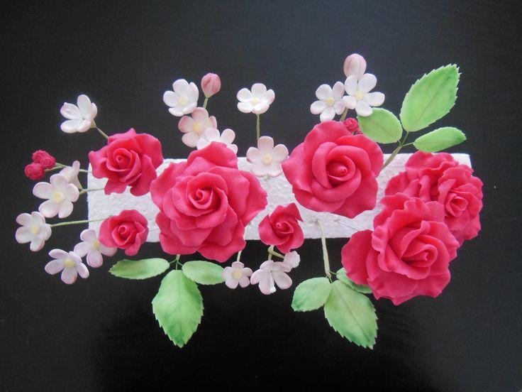 Růžičky a drobné kvítky
