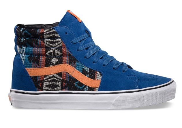 These are my favorites. I want a pair. Blue orange inca sk8 hi's