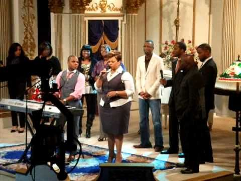 Kirk Franklin, Rickey Smiley, and Tamela Mann singing Silver and Gold also Singing Now behold the Lamb on Tbn in Dallas, Texas.
