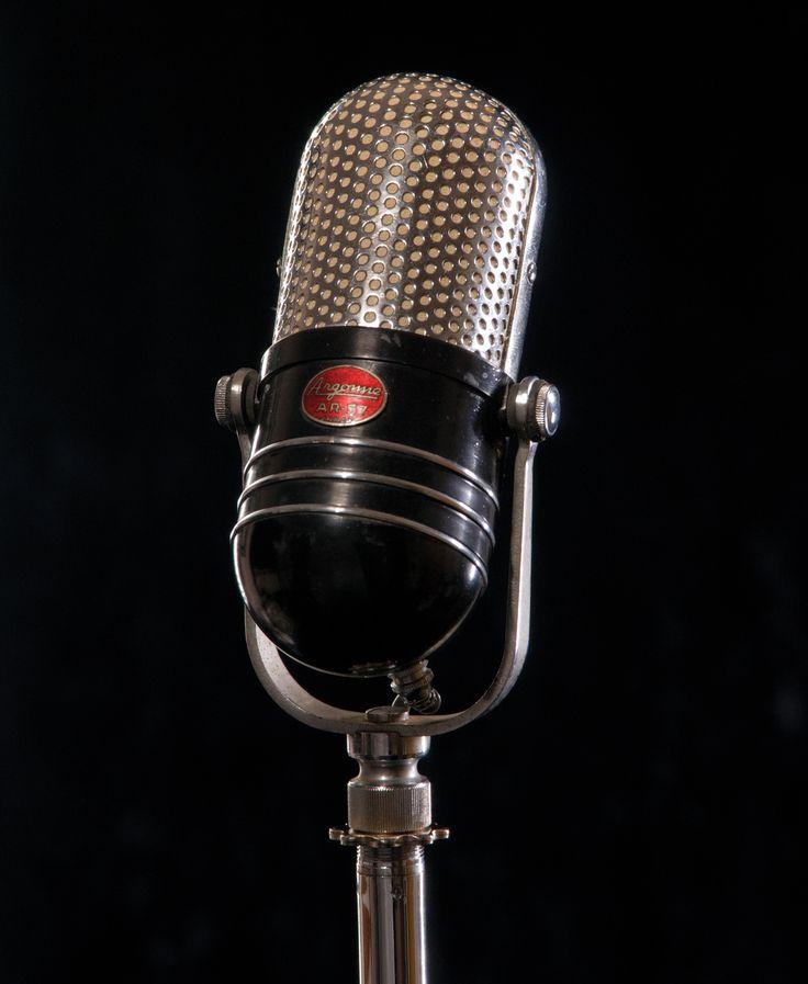 Картинки микрофон ретро