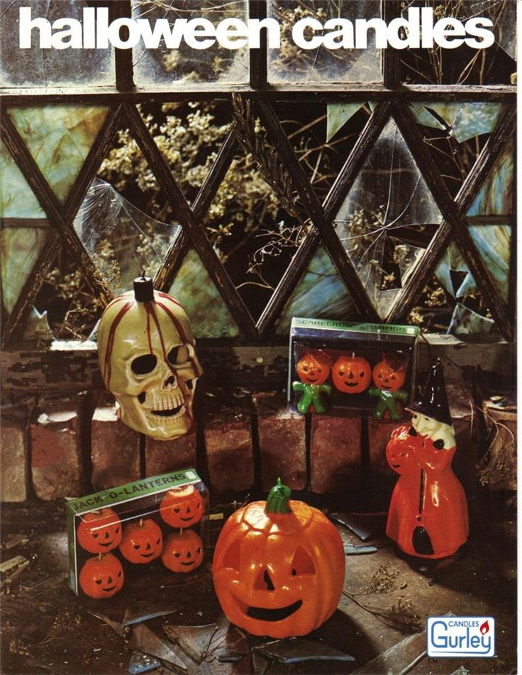 gurley candles 1972 catalog halloween candles - Halloween Catalog