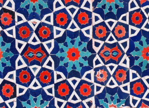 Tile Guide Patterns Natalie Wedding Moroccan Wallpaper